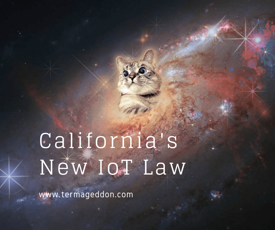 California's new IoT law