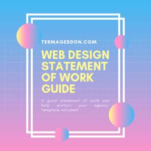 Web Design Statement of Work Guide