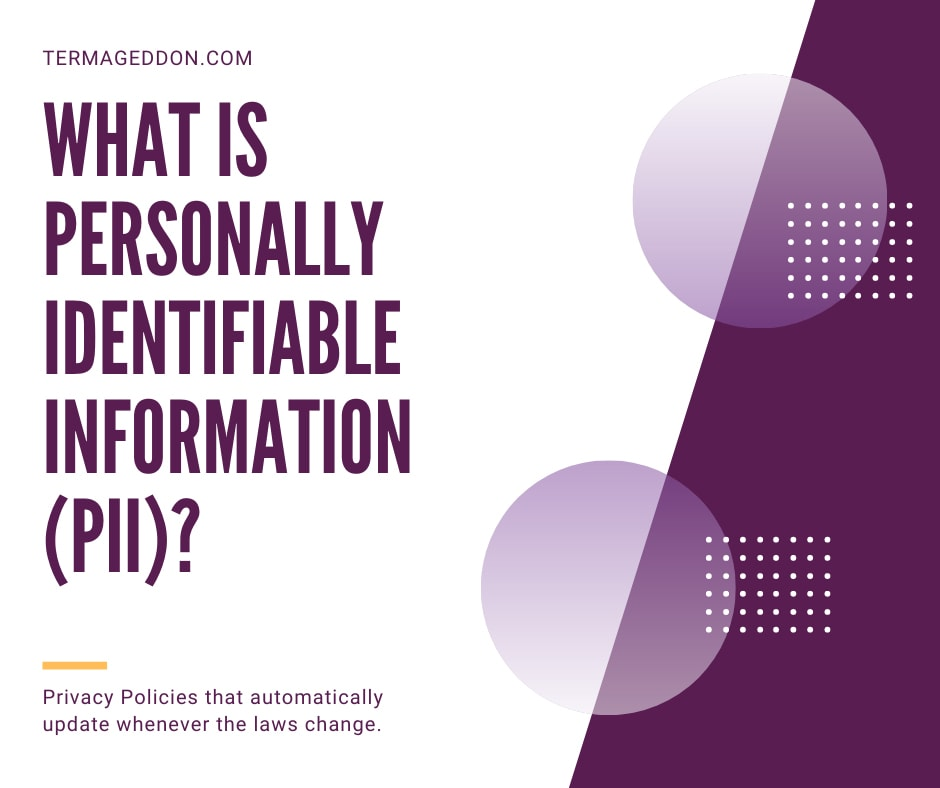 privacy laws and their unique definitions of personally identifiable information pii