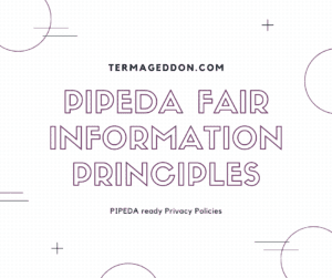 PIPEDA fair information principles