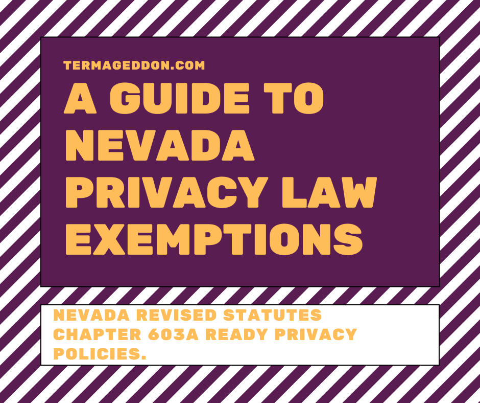 Nevada 603a exemptions