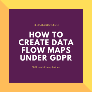 GDPR creating data flow maps