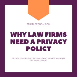 Law firm Privacy Policy