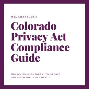 Colorado Privacy Act Compliance Guide